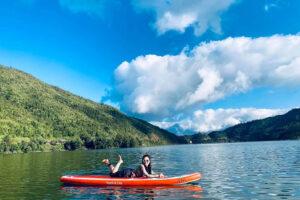 Chèo Sup trên hồ Séo Mý Tỷ - Sapa